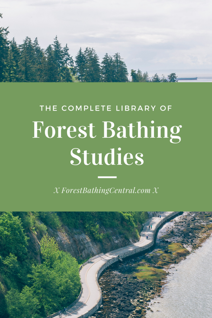 Forest bathing studies: complete library of forest bathing studies and articles